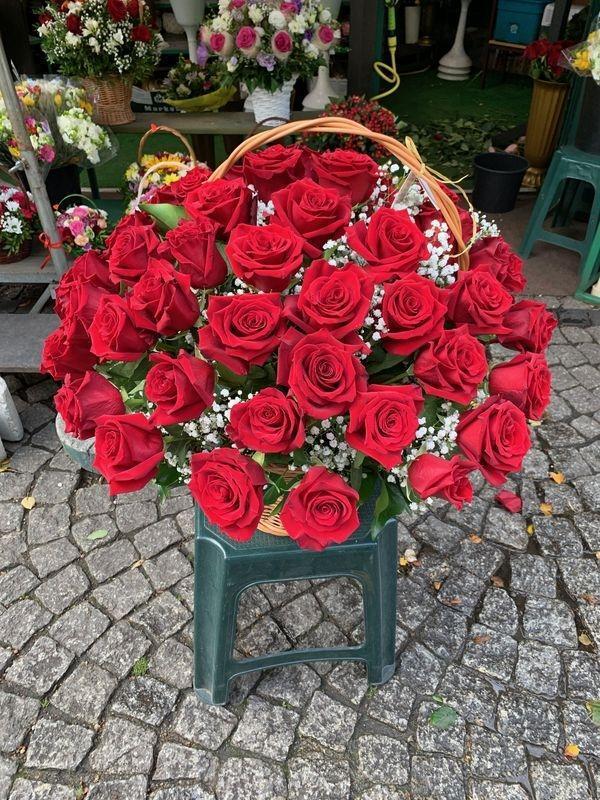 kosze kwiatowe 1