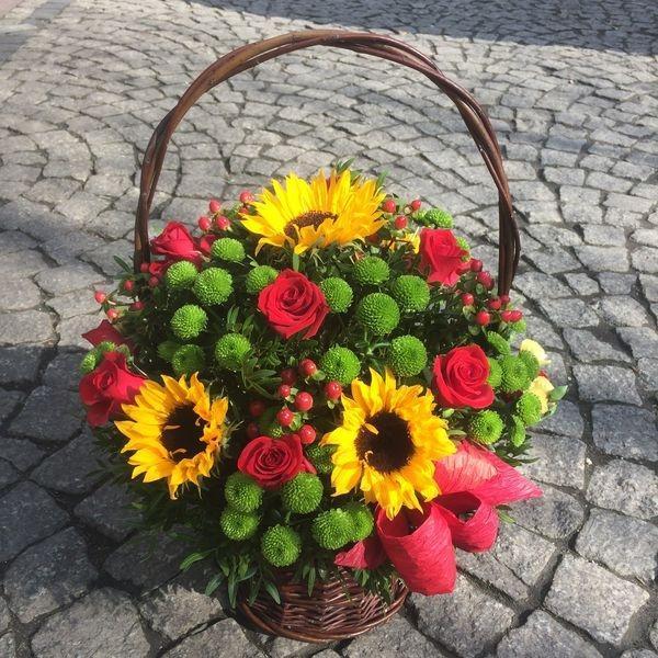 kosze kwiatowe 7