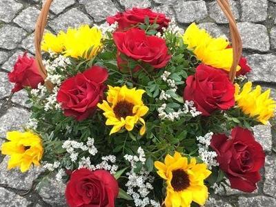 kosze kwiatowe 6