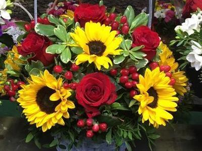 kosze kwiatowe 11